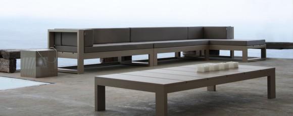 Table basse extérieur design